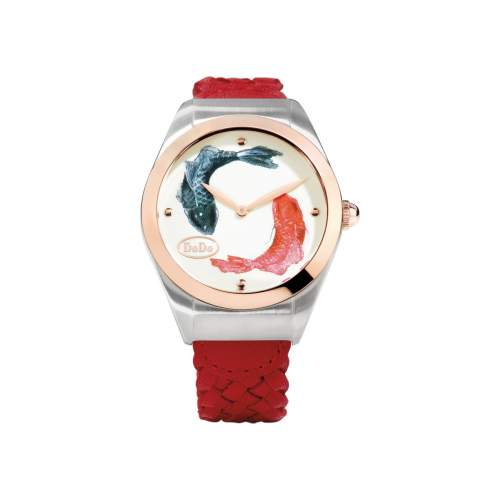 Dodo Two Fish Watch - WAD6PE/PVD