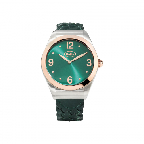 Orologio Dodo Paradise Green - WAD6VE/PVD
