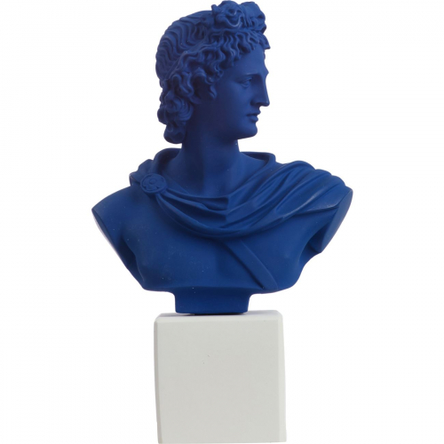Busto di Apollo Medio Sophia Blue