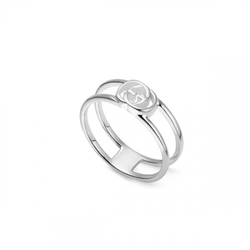 Anello Gucci Interlocking in Argento - YBC298036001