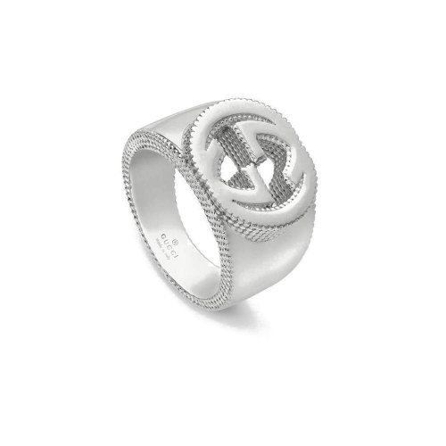 Anello Gucci Interlocking in Argento - YBC479229001