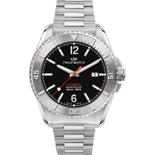 Philip Watch Amalfi Diving Automatico 43 mm  - R8223218003
